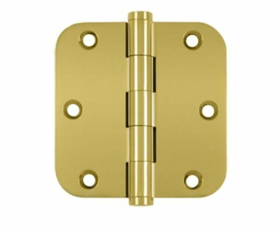 Door Hinges 3-1 2  x 3-1 2  5 8  Radius Corner Standard 9 Finishes By  FPL Door