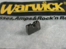 NEW WARWICK NARROW BLACK BRIDGE SADDLE NORMAL SPACED NT THUMB BASS GUITAR PART