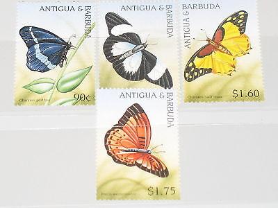 Tiere Briefmarken Pflichtbewusst Antigua Barbuda 2000 Klb 3122-27 Butterflies Fauna Mnh
