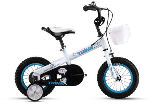 """Kinder-Rad Kinderfahrrad 12/"""" 16/"""" mit Stützräder blau rot weiß grün orange bike"""