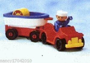 Lego-Duplo-Oldtimer-mit-Schiff-Boot-Matrose-Car-and-Boat-Vacation-Trailer-2626