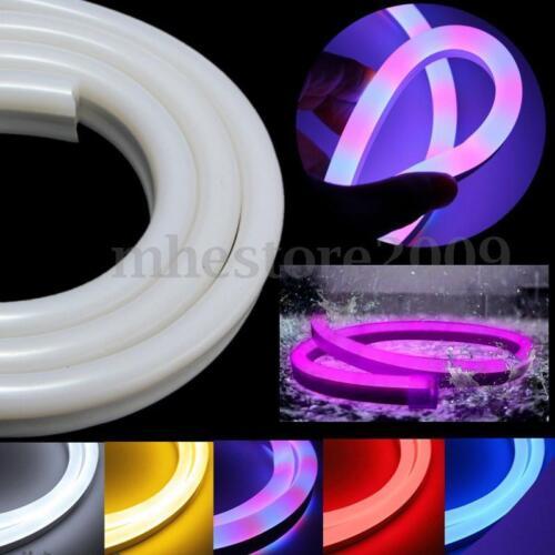 1-30m 2835 LED Flexible Neon Rope Strip Light Christmas Xmas Outdoor Waterproof