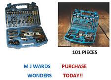 Makita P-67832 101 Piece Accessory Set, Drill Bits, Holesaws, Spirit Level +