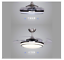 48-034-Retractable-Blades-Dimmable-LED-Ceiling-Fan-Light-Remote-Control-Lamp thumbnail 5