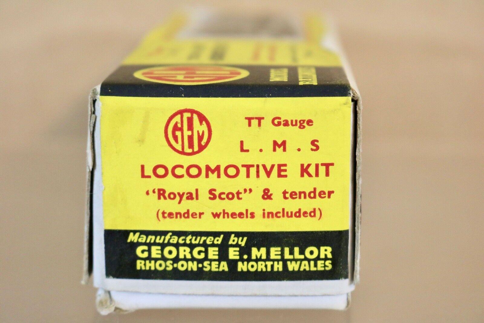 GEM TT GAUGE KIT KIT KIT BUILT LMS 4-6-0 ROYAL SCOTT CLASS LOCOMOTIVE KIT e9b319
