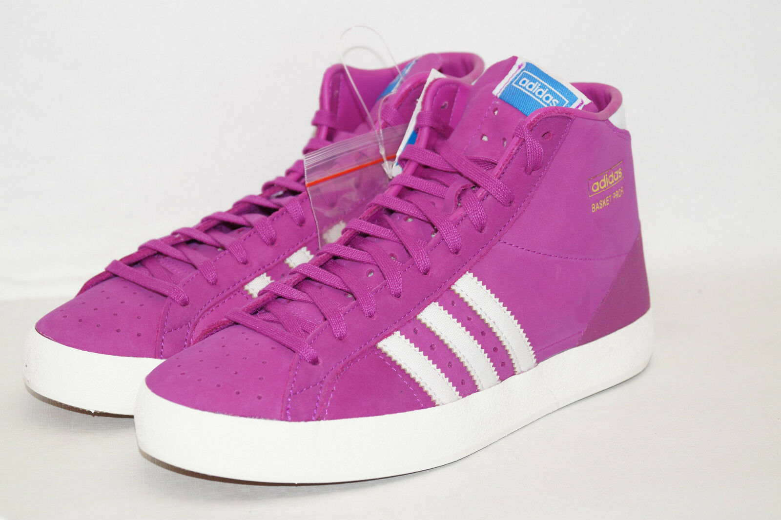 Adidas Originals Basket W Femmes Baskets taille 39 1 3 uk6 rose Chaussures De Sport