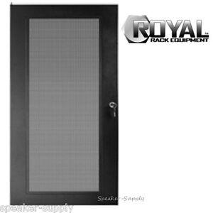 Image is loading Royal-Racks-16U-Audio-Video-AV-Rack-Door-