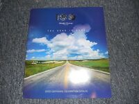 2003 Ford 100th Anniversary Accessories Merchan Catalog