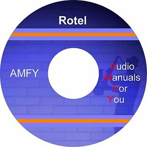 Rotel-audio-servicemanuals-ownersmanuals-and-schematics-on-1-dvd