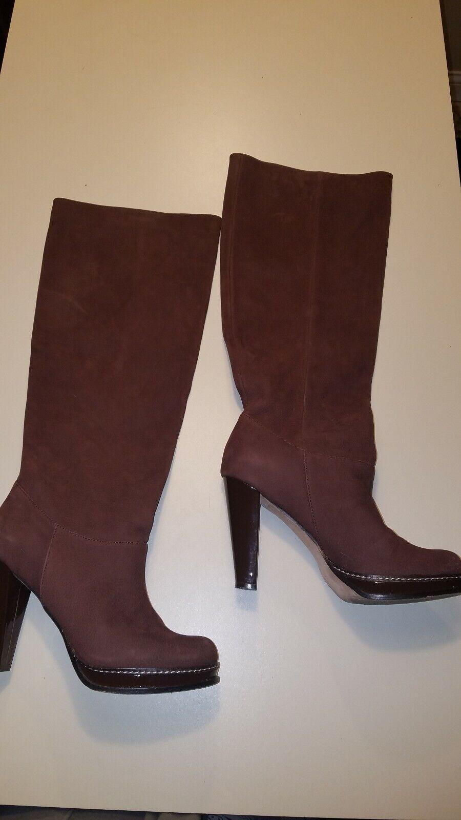 essere molto richiesto Cole Haan 9.5 B Nola Slouch Slouch Slouch High heel Tall stivali N ike Air Marrone Dimensione D38401  molto popolare