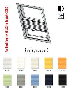 Dachfenster-Plissee-f-Velux-GGL-GPL-GHL-GEL-GTL-GDL-GXL-Blickdicht-nach-Mass