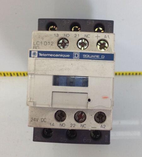 TELEMECANIQUE 24VDC 25A CONTACTOR LC1D12BD