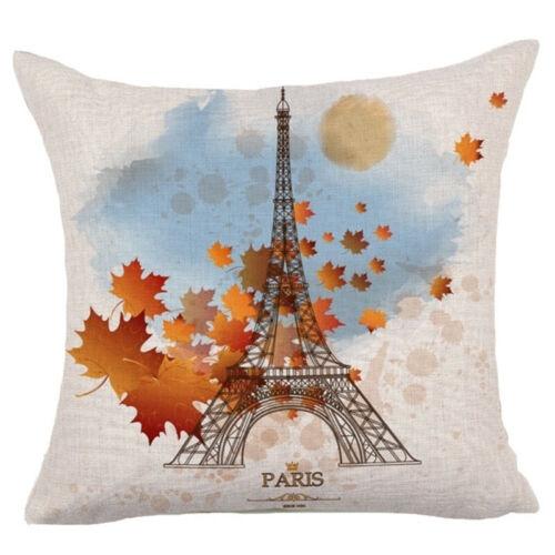 249 Style Cotton Linen Home Decor Pillow Case Sofa Waist Throw Cushion Cover