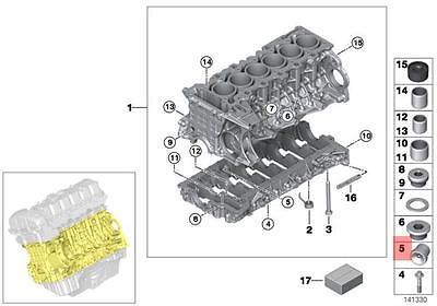 PCV Valve 04-10 OEM BMW E53 E60 E63 E64 E65 E66 E70