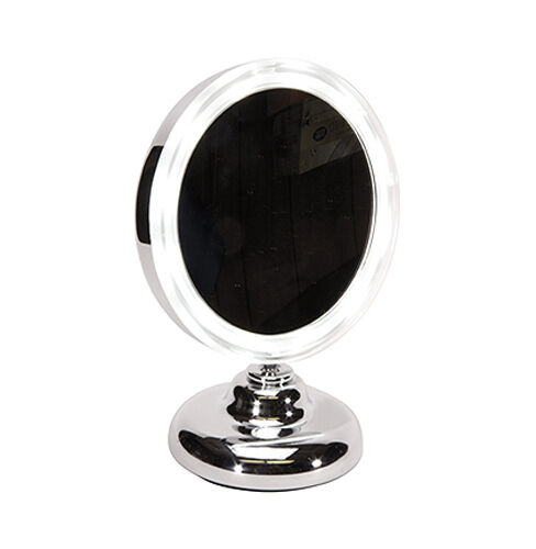 Kingsley Lighted Round Vanity Mirror On Stand M105 For