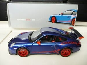 1-18-NOREV-PORSCHE-Porsche-911-997-gt3-RS-BLU-ROSSO-LIMITED-EDITION-NUOVO-NEW