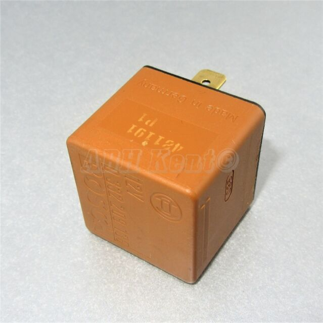 44-Vauxhall Opel 5-Pin Brown Relay Engine Cooling AC 90491314 Bosch 0332209136