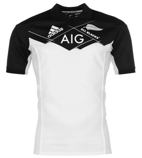 Adidas All schwarzs Neuseeland New Zealand Rugby Trikot 2017 Weiß alle Größen Neu