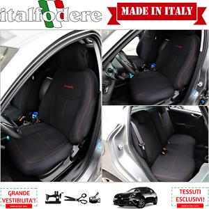 SET-COPRISEDILI-su-Misura-Alfa-Romeo-Giulietta-C-LOGHI-Fodere-Foderine-COMPLETE