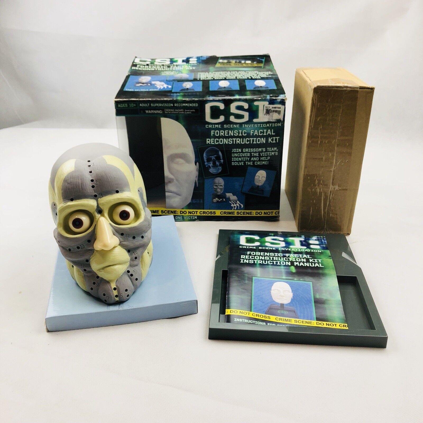edizione limitata a caldo CSI Crime Scene Investigation Forensic Facial Reconstruction Kit nuovo nuovo nuovo Open scatola  rivenditore di fitness