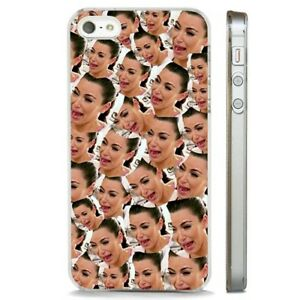 sports shoes 82e27 dc2f0 Details about Kim Kardashian Crying Funny CLEAR PHONE CASE COVER fits  iPHONE 5 6 7 8 X