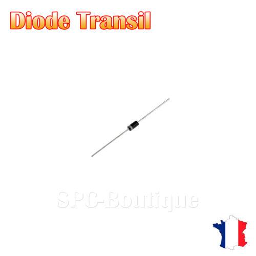 Diode protection Transil P6KE30A 30V 600W Boitier DO15