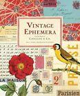 Vintage Ephemera by Brian D. Coleman, William Wright (Hardback, 2014)