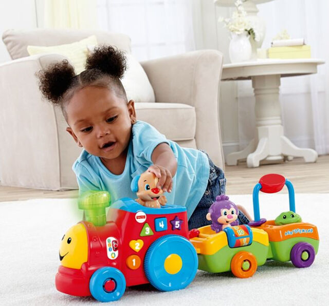 Fisher Price Laugh & Learn Puppys Smart Stages Train Child Toy