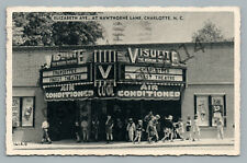 Visulite ?Modern Movie Theater? CHARLOTTE North Carolina?Vintage Advertising '40