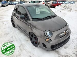 2013 Fiat 500 Abarth,FWD,LEATHER,SUNROOF,MANUAL,SUMMER/WINTER TI