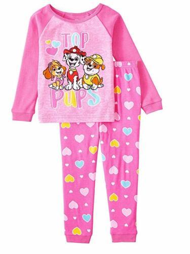 Nickelodeon Paw Patrol Toddler Girls 2 Piece Pajama Set Sizes 2T 3T 4T NWT