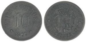 Kirchenlamitz 10 Peniques 1917 S-Ss 53027
