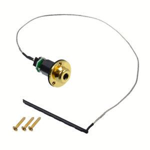 Gold-Acoustic-Guitar-Piezo-Pickup-Under-Saddle-Output-End-Pin-Jack