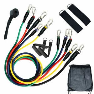 Cordes-elastiques-11pcs-set-Tirer-Cordes-Fitness-Exercices-Latex-tubes-Pedale