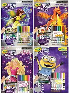 image is loading crayola color alive barbie minions enchanted forest bring