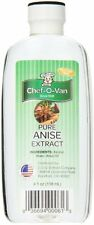 Chef-O-Van Natural-Flavoring-Extract, Pure Anise, 4 Ounce