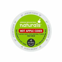 Keurig, Green Mountain Naturals, Hot Apple Cider, K-cup Packs, 72 Count , New, F on sale