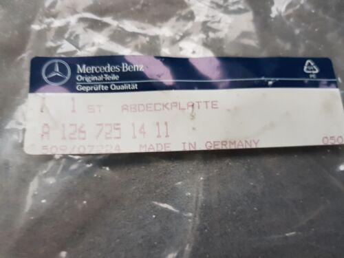Mercedes W126  SEC Outside rearview Mirror inner plate RH A1267251411