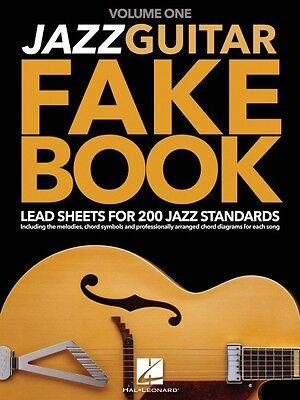 Jazz guitar fake book volume 1