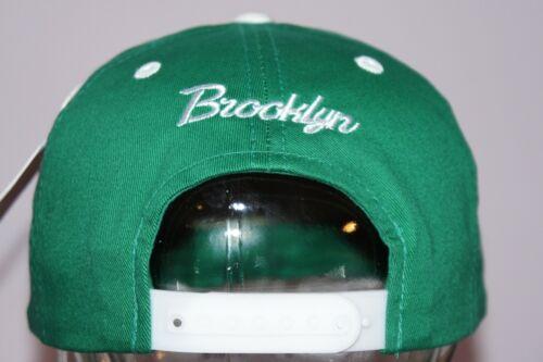 RETRO VINTAGE FLAT PEAK HAT FITTED BASEBALL BLING CAP BROOKLYN SNAPBACK CAPS