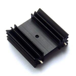 4x-To-220-Disipador-potencia-pequena-De-Aluminio-Disipador