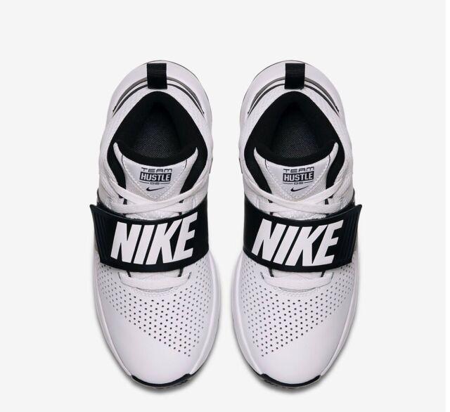 super cheap release info on on sale Boys Girls Nike Team Hustle D7 Basketball Trainers UK 3 EUR 35.5 ...