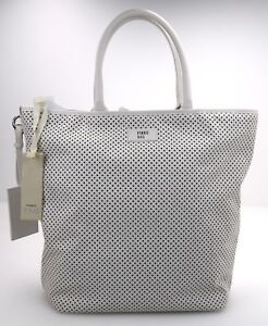 Image is loading Pinko-Woman-Bag-Shoulder-Shopping-Large-Perforated-Leather- 4f6d223b633