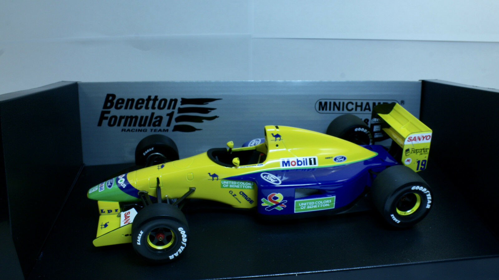 F1 BENETTON Ford B191 M Schumacher 2018 Minichamps  100920189
