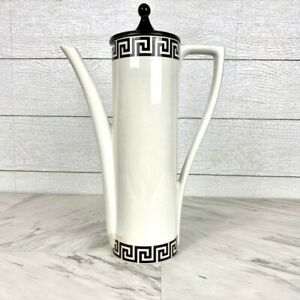 Vintage 1960's Portmeirion Coffee Pot in Greek Key
