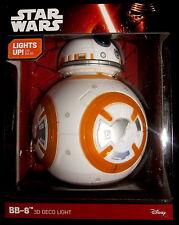 "STAR WARS BB-8 Light / Leuchte / Dekoleuchte - 3D - LED - 12"" / 30 cm"