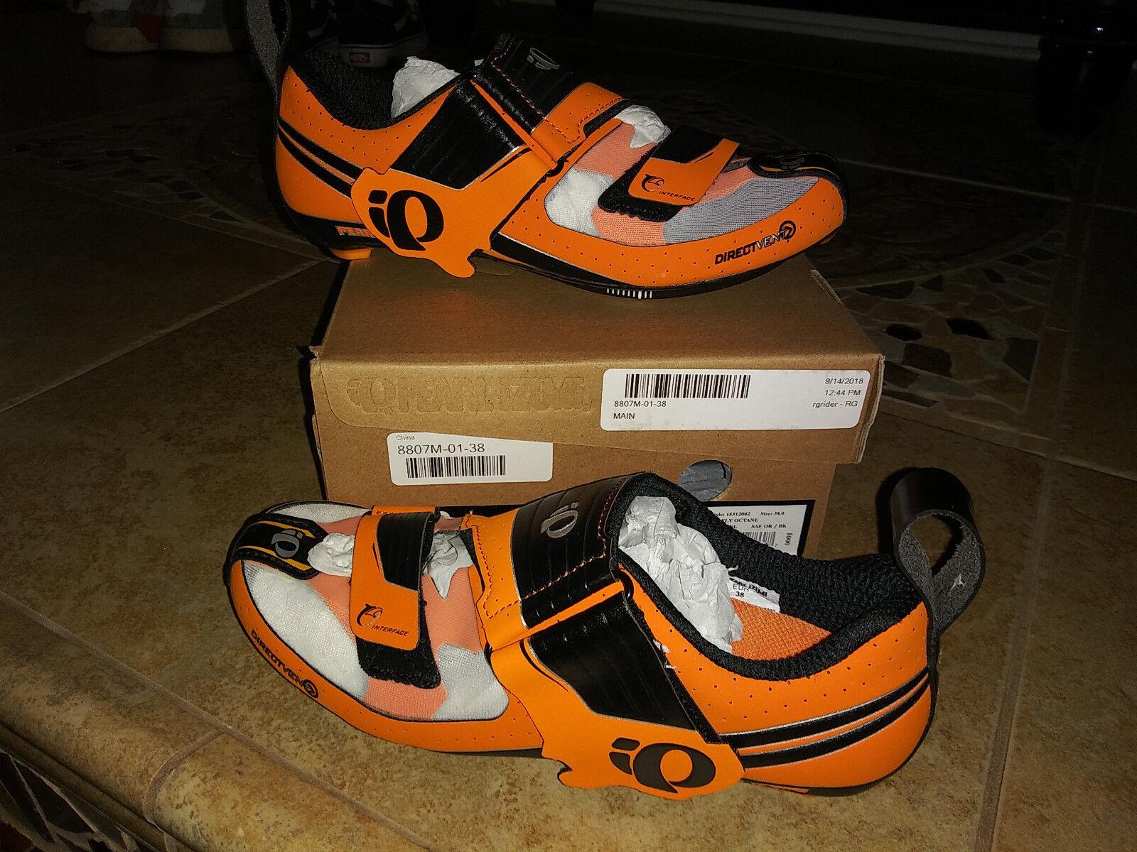 Nuevo  Para hombres Zapatos para Perla Izumi Tri Fly Octane, tamaño 38.0
