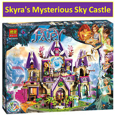 Lego 41078 (replica) Elves Skyra's Mysterious Sky Castle Building Blocks 809 pcs