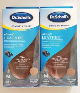 Lot of 2 Dr. Scholl's Comfort & Energy UltraSoft Leather ...