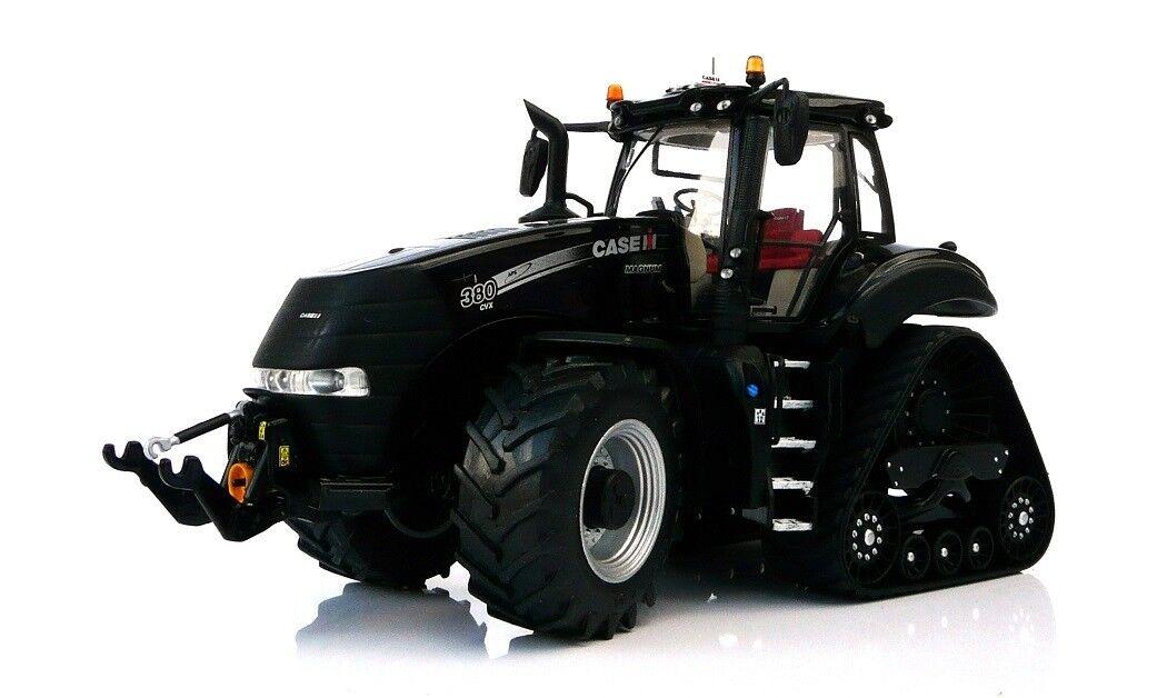 MAR1807 - Tracteur limité à 500 Pièces - CASE IH Magnum Rowtrac de couleur noir